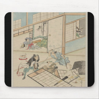 """Scene from the """"47 Ronin"""" Story circa 1800s Japan Mousepads"""