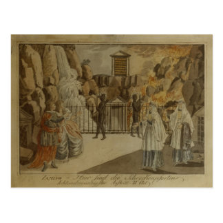 Scene from 'The Magic Flute' by Mozart, 1795 Postcard
