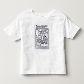 Scene from 'The Navigation of St. Brendan' T-shirts