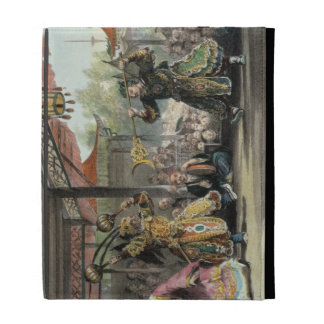 Scene from the Spectacle of 'The Sun and Moon', fr iPad Folio Cover