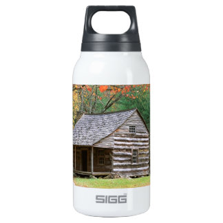 Scene Historic Log Cabin In Smoky 0.3 Litre Insulated SIGG Thermos Water Bottle