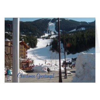 Scene in Whistler Card