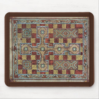 Scene Lindisfarne Gospels: Carpet Page By Meister Mouse Pad