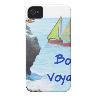 Scene of a distant place with boats and fauna iPhone 4 Case-Mate cases