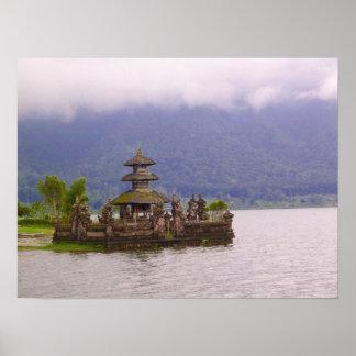 Scene of Bali Poster