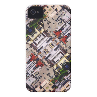 Scene of City Structures iPhone 4 Case