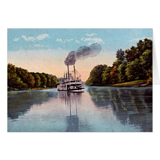 Scene on the Kentucky River Card