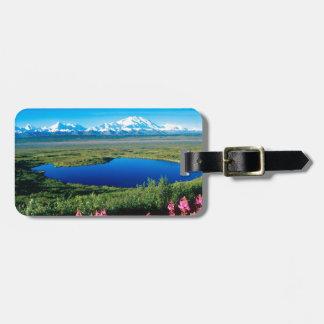 Scene Tundra Mount Mckinley Denali Alaska Luggage Tag