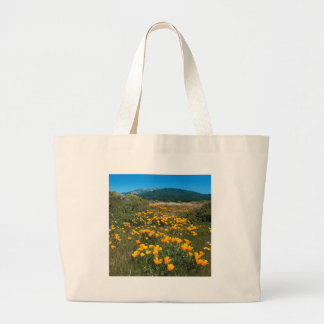 Scene Yellow Brick Road California Poppies Canvas Bags