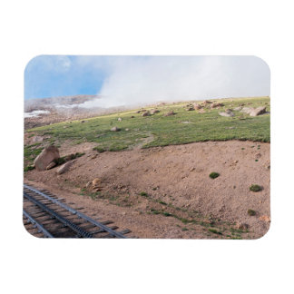 Scenery Along Historic Cog Railway Magnet