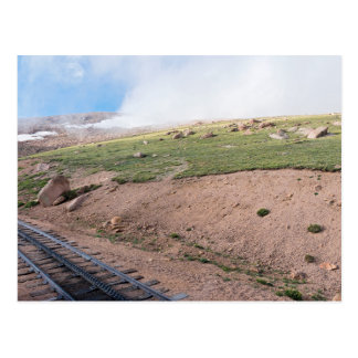 Scenery Along Historic Cog Railway Postcard