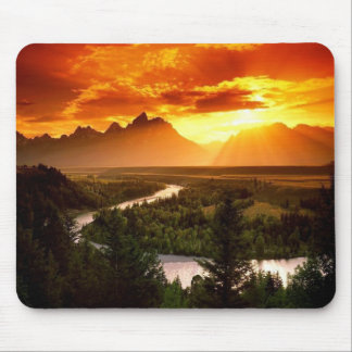 Scenery-Mountains Mouse Pad