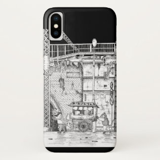Scenery of downtown iPhone x case