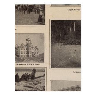 Scenes Aberdeen, Washington Postcard