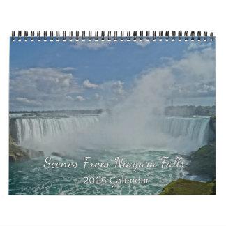 Scenes From Niagara Falls 2015 Calendar