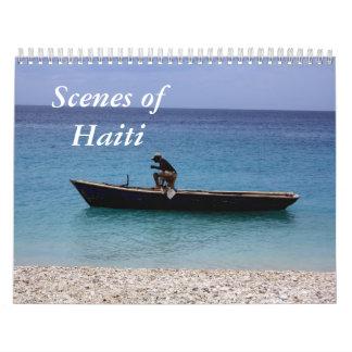 Scenes of Haiti Wall Calendar