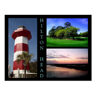 Scenes of Hilton Head Postcard
