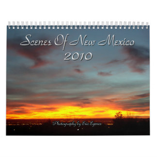 Scenes Of New Mexico 2010 Calendar