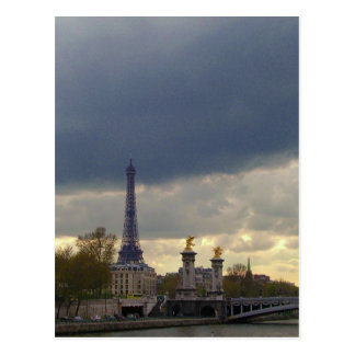 Scenes of Paris Postcard