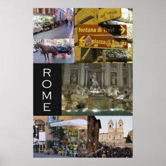 Scenes of Rome Poster