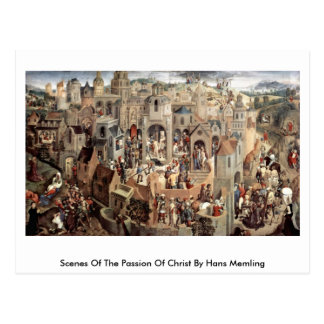 Scenes Of The Passion Of Christ By Hans Memling Postcard