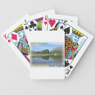 Scenic Appalachian Lake Poker Deck
