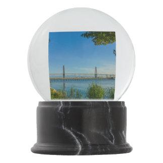 Scenic Arthur Ravenel Bridge Snow Globes
