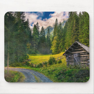 Scenic Bavaria Countryside Mouse Pad