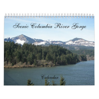 Scenic Columbia River Gorge Photo Wall Calendars