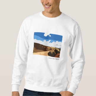 Scenic design sweatshirt