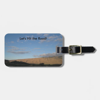 Scenic Drive in Maui Luggage Tag
