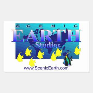 Scenic Earth Aquatic Earth Ocean World Art Sticker