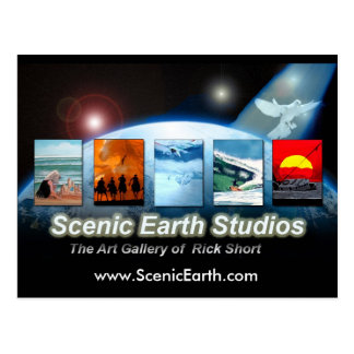 Scenic Earth Studios Fine Art Gallery Post Card