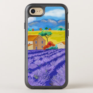 Scenic Farm Illustration OtterBox Symmetry iPhone 8/7 Case