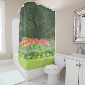 Scenic Garden Shower Curtain