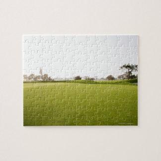Scenic, Golf, Golf Course, Grass, Landscape, Puzzle
