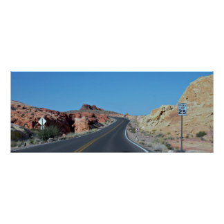 Scenic Highway Valley of Fire Poster