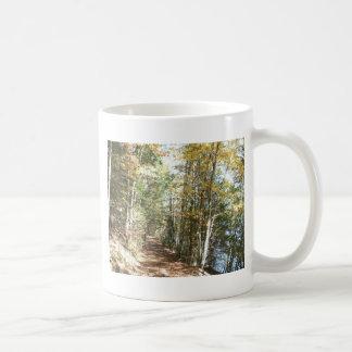 Scenic Hiking Trail Basic White Mug