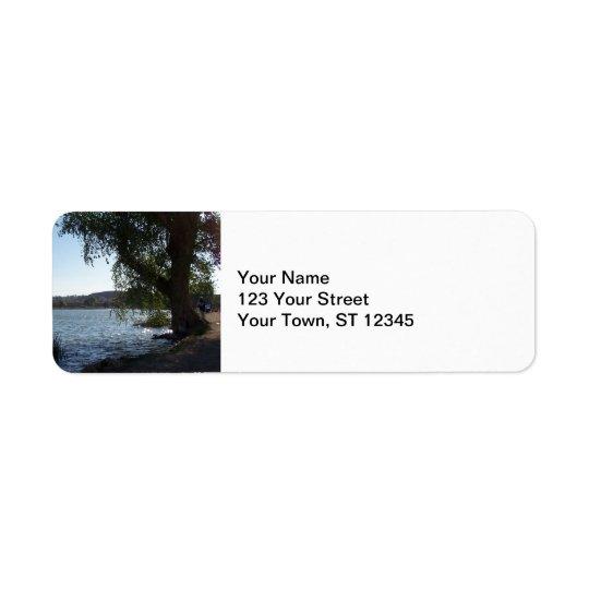 Scenic Lake Return Address Label