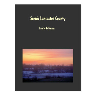 Scenic Lancaster County Postcard