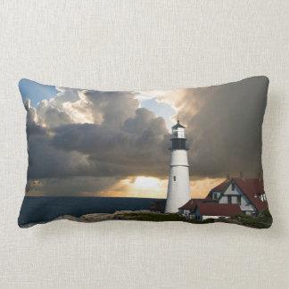 Scenic Lighthouse Beacon Lumbar Cushion