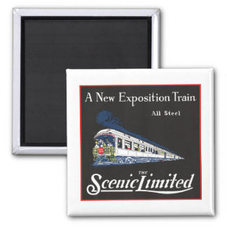 Scenic Limited Train - Magnet