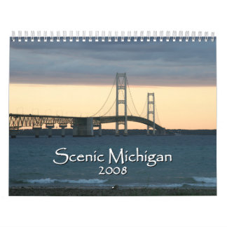 Scenic Michigan 2008 calendar