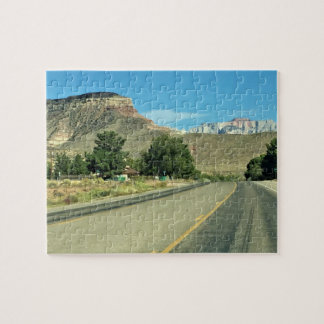 Scenic Mountain Highway Jigsaw Puzzle
