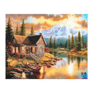 Scenic Nature Home Canvas Art