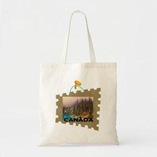 Scenic Northern Landscape Rustic Tote Bag