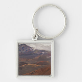 Scenic overview of mountain key ring