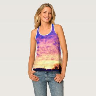 Scenic Photography Print Tank Top