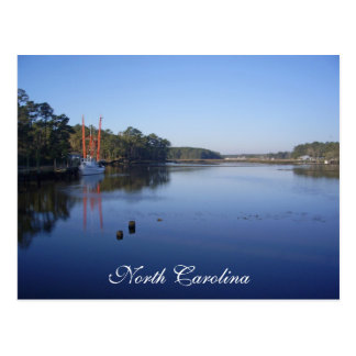 Scenic Postcard - North Carolina