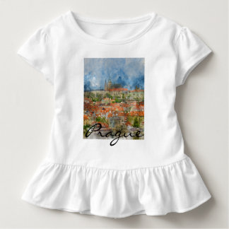 Scenic Prague in the Czech Republic Toddler T-Shirt
